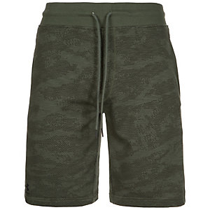 Under Armour HeatGear Camo Fleece Shorts Herren oliv