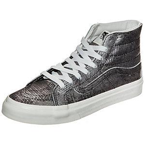 Vans Sk8-Hi Slim Disco Python Sneaker Damen silber