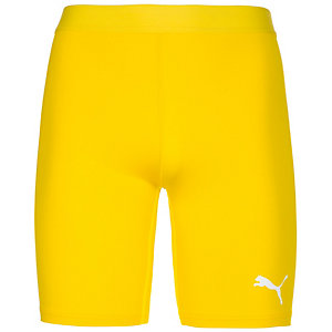 PUMA TB Short Tights Herren gelb