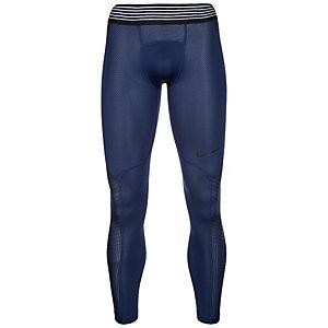 Nike Pro Hypercool Tights Herren dunkelblau / schwarz
