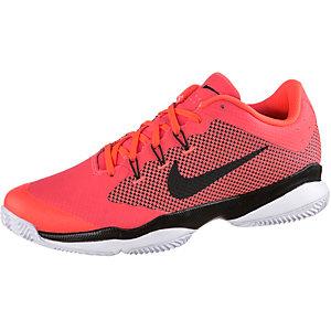 Nike Air ZoomUltra Clay Tennisschuhe Herren neonorange/schwarz