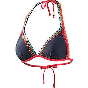 Beachlife Bikini Oberteil Damen navy/rot
