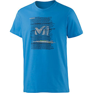 Millet Be Bold Printshirt Herren electric-blue