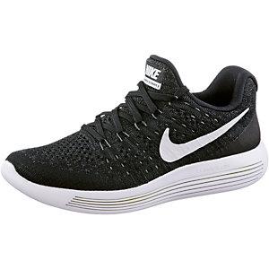 Nike Lunarepic Low Flyknit 2 Laufschuhe Damen schwarz