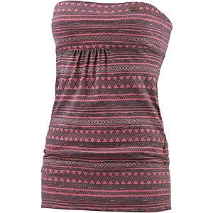 Ragwear Bandeautop Damen rosa/grau