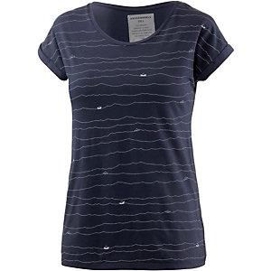 ARMEDANGELS Liv Printshirt Damen navy