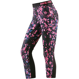 Nike Pro Dry Fit Tights Damen pink/schwarz