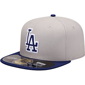 New Era LA Dodgers MLB BP 5950 Cap beige/schwarz