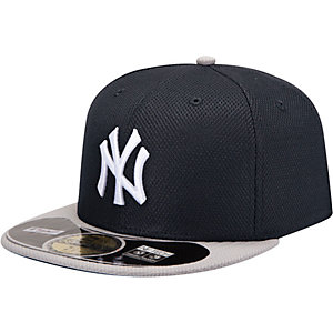 New Era NY Yankees MLB BP 5950 Cap schwarz/weiß