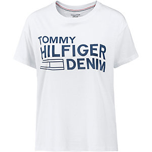 tommy hilfiger t shirt damen wei im online shop von. Black Bedroom Furniture Sets. Home Design Ideas