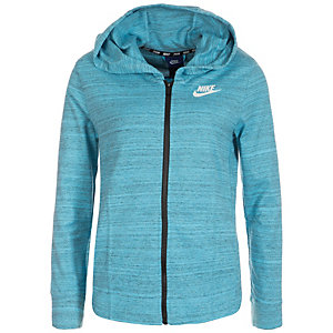 nike advance 15 sweatjacke damen hellblau im online shop. Black Bedroom Furniture Sets. Home Design Ideas