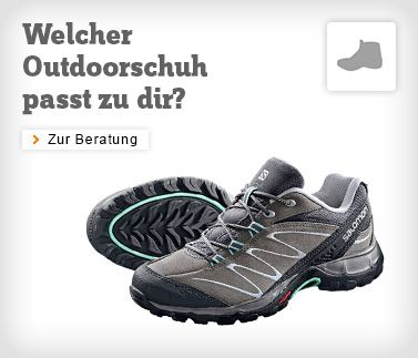 Outdoorschuh-Berater