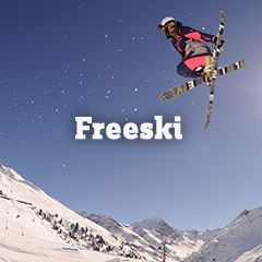 Unser Freeski Sortiment