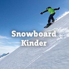 Snowboard-Sortiment für Kinder