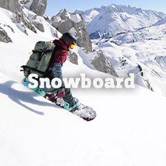 Unser Snowboardsortiment
