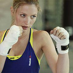 Sportoutfit Bunt Detail Boxszene