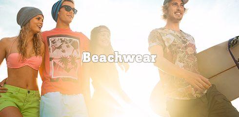 Lässige Outfits für den Strand