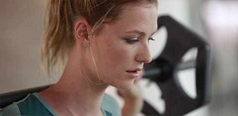 Sportoutfit Pastell Detailbild