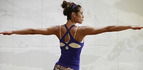 Sportoutfit Yoga Detail