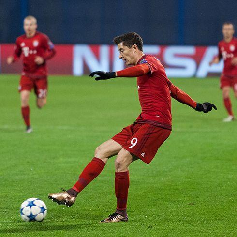 Spielertypus Stürmer wie Robert Lewandowski