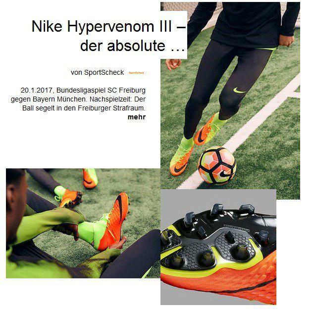 Nike Hypervenom III Beitrag