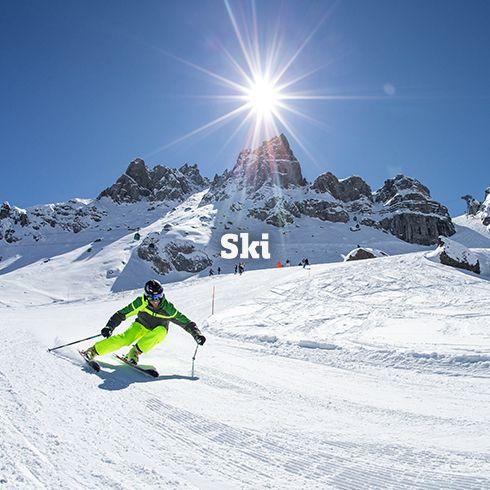 Skijacken, Skihosen & Skiausrüstung