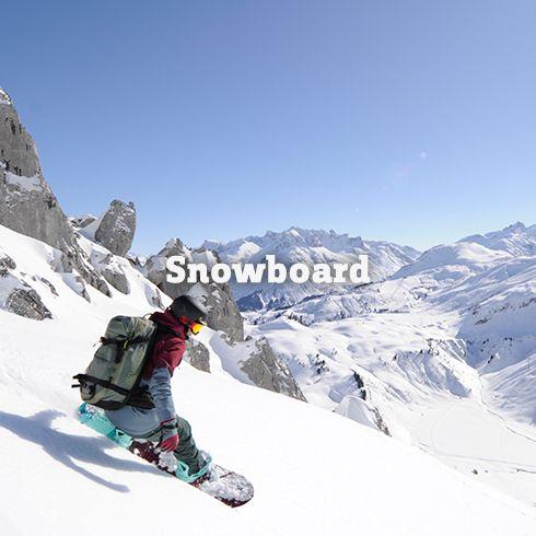 Snowboard-Outfits & Snowboard-Ausrüstung