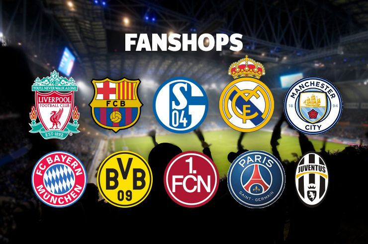 Fußball Fanshops