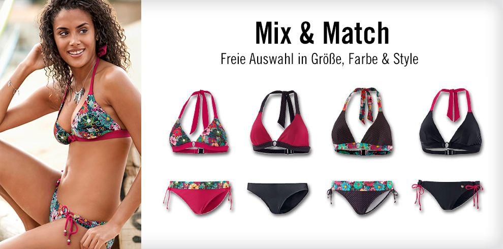 Mix & Match für deinen Bikini