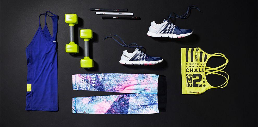 Sportoutfit Bunte Farben Stills