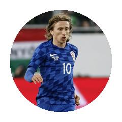 Luka Modrić Kroatien