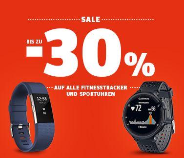 Fitness Tracker Sportuhren bis 30% reduziert