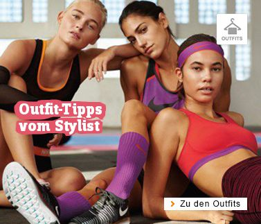 Fitness Outfits für Damen