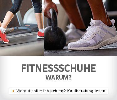 Welche Fitnessschuhe brauche ich?