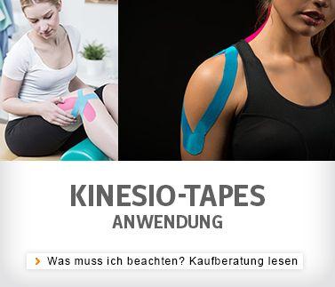 Kinesio-Tape Anwendung