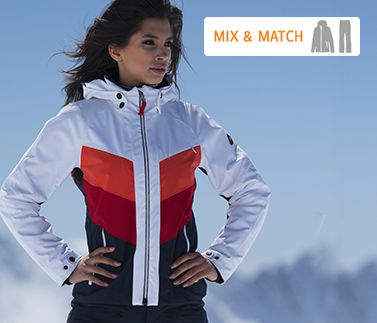 Mix & Match Skijacke mit Skihose
