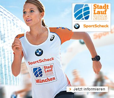 SportScheck Stadtlauf Events 2016