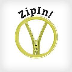 ZipIn! Logo