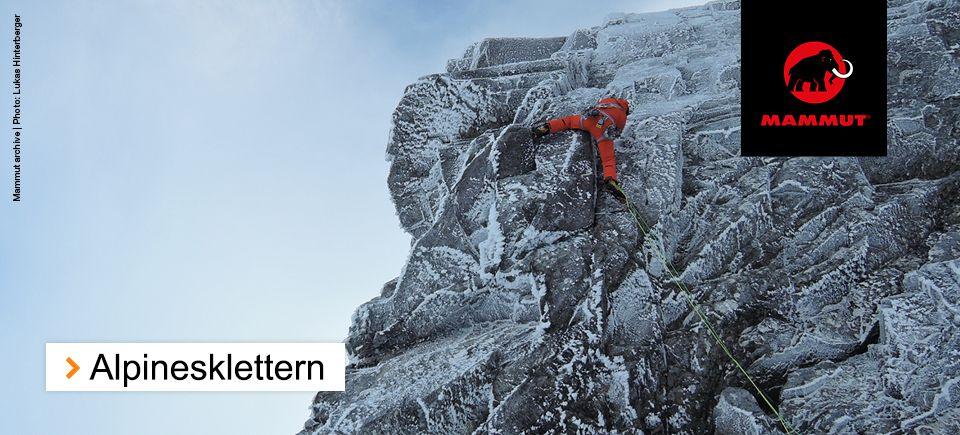 Alpines Klettern