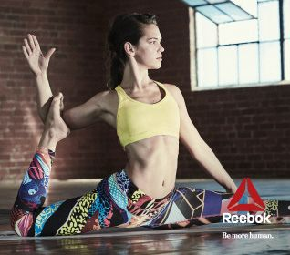 Reebok Yoga Banner