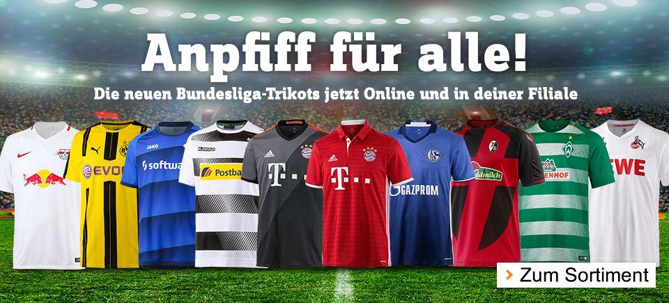 Bundesliga Trikots