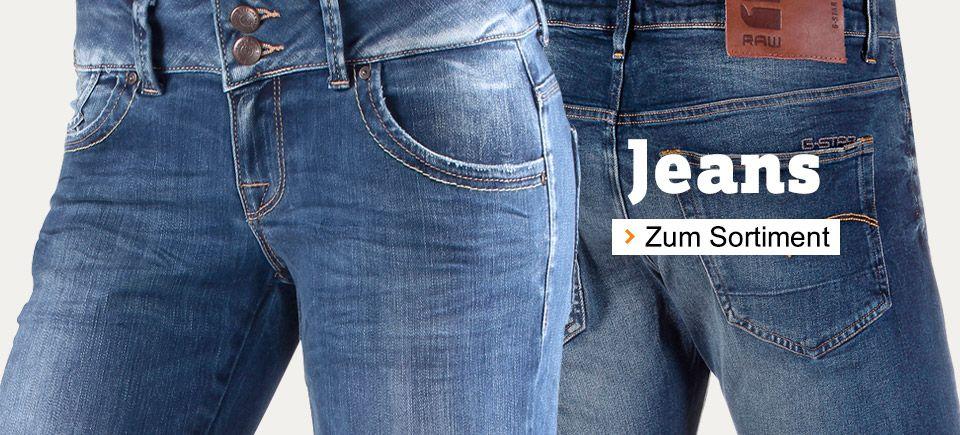 Jeans für Damen und Herren
