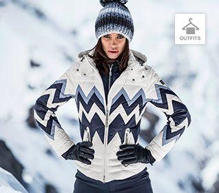 Damen Ski Outfits