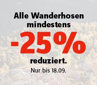 Wanderhosen -25%