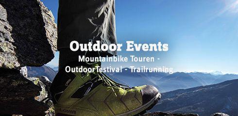 Events für Outdoor Fans