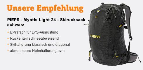 Zum Skitourenrucksack Myotis Light 24 von PIEPS
