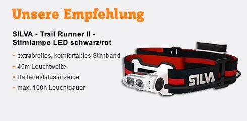 Jetzt kaufen: SILVA - Trail Runner II Stirnlampe