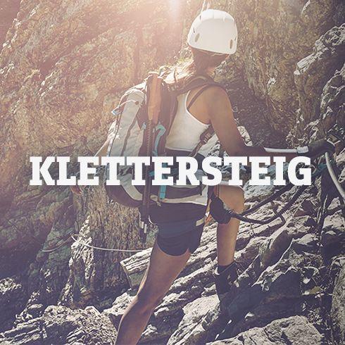 Ausrüstung für Klettersteig