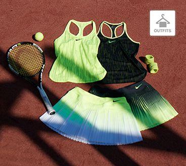 Tennisoutfits für Damen