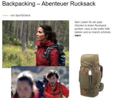 Zum Backpacking Magazinbeitrag